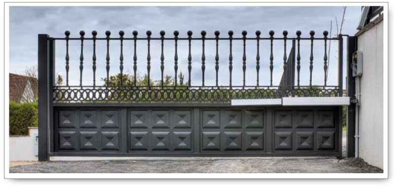 Puertas automaticas mantenimiento de puertas automaticas for Puertas de chapa galvanizada
